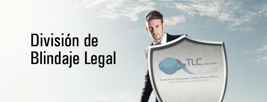División de blindaje legal