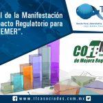 010 – Manual de la Manifestación de Impacto Regulatorio para la COFEMER