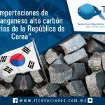 006 – Importaciones de ferromanganeso alto carbón originarias de la República de Corea