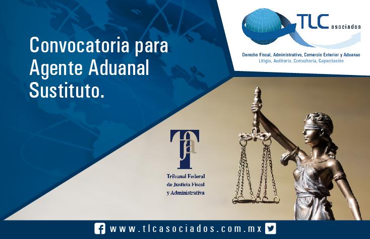 027 – Convocatoria para Agente Aduanal Sustituto