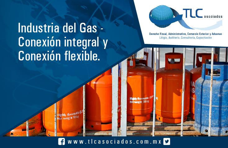 028 – Industria del gas-Conexión integral y conexión flexible