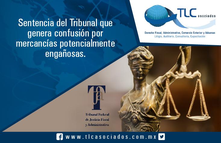030 – Sentencia del Tribunal que genera confusión por mercancías potencialmente engañosas
