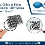 """014 – """"Garitas, Código de Barras Bidimensional (QR) y Código de Barras  Lineal""""."""