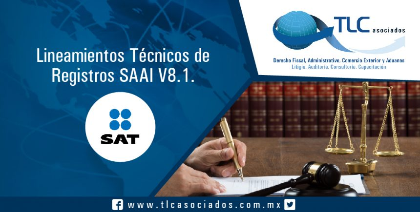 035 – Lineamientos Técnicos de Registros SAAI V8.1