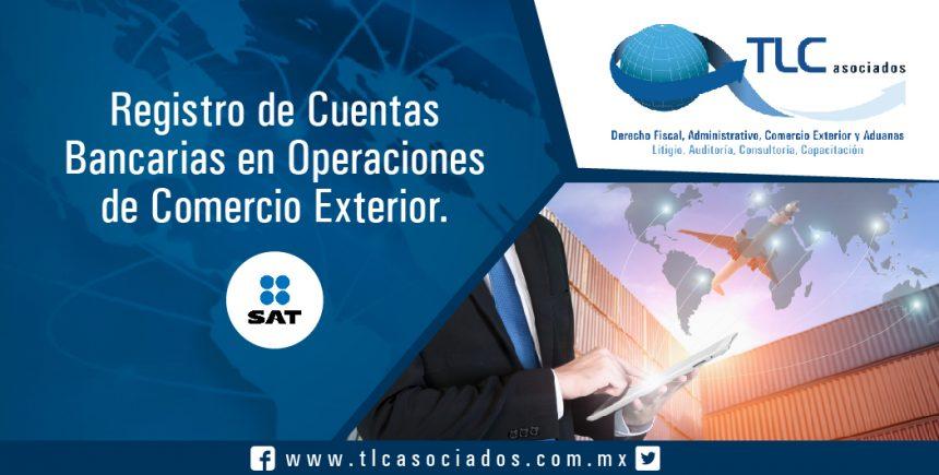 037 – Registro de Cuentas Bancarias en Operaciones de Comercio Exterior
