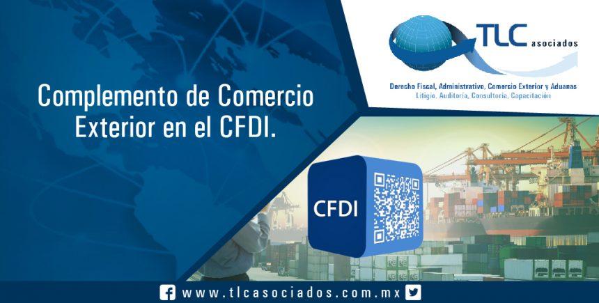 039 – Complemento de Comercio Exterior en el CFDI