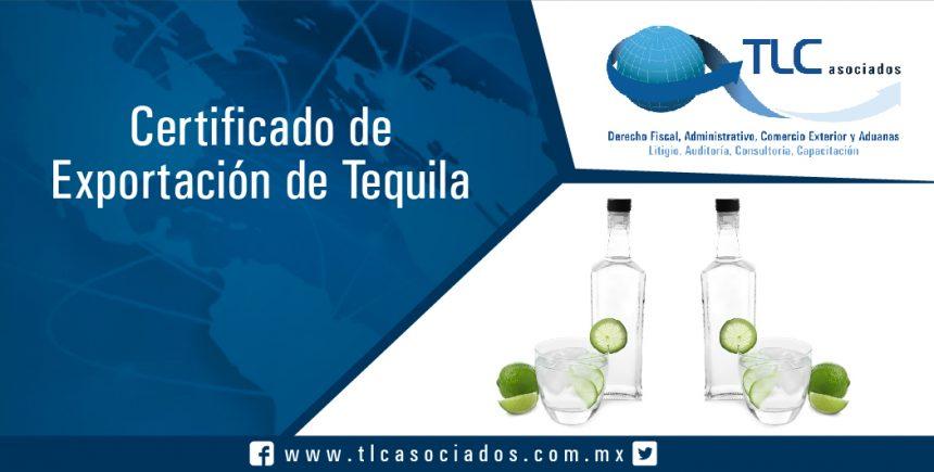 062- Certificado de Exportación de Tequila