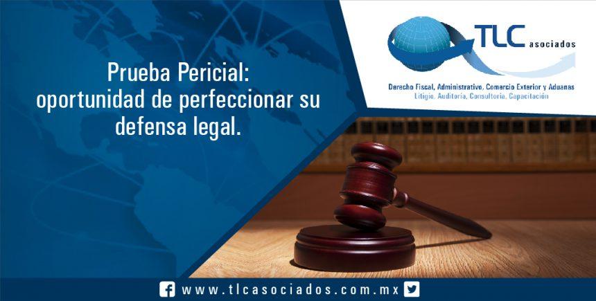 065 – Prueba Pericial: oportunidad de perfeccionar su defensa legal