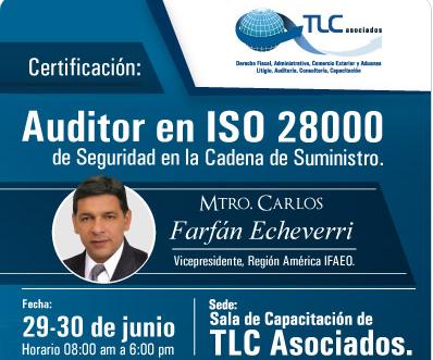 Auditor en ISO 28000