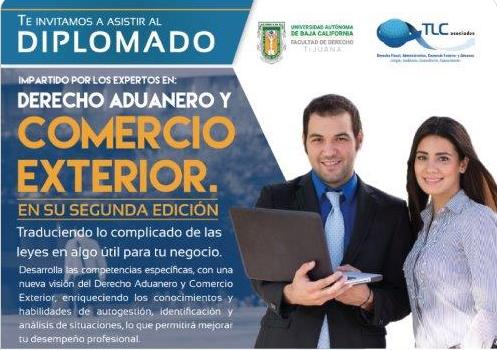 Diplomado – Derecho Aduanero y Comercio Exterior 2da. Edición