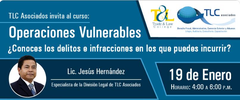 (19-01-2017) Operaciones vulnerables. ¿Conoces los delitos e infracciones en los que puedes incurrir?