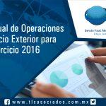T040 – Reporte Anual de Operaciones  de Comercio Exterior para el ejercicio 2016