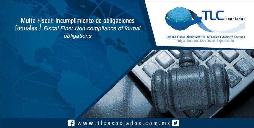 077 – Multa Fiscal: Incumplimiento de obligaciones formales / Fiscal Fine: Non-compliance of formal obligations