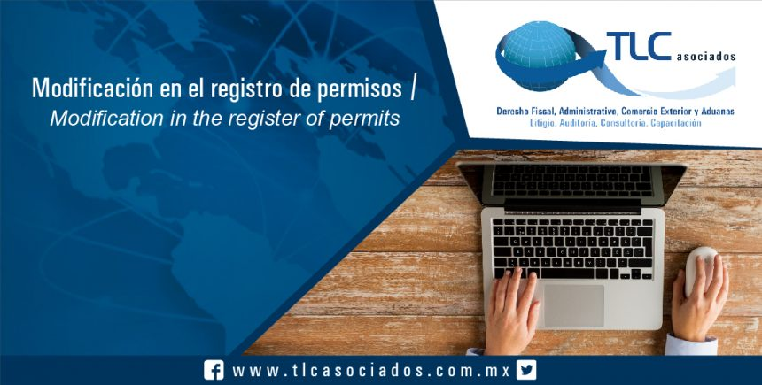 080 – Modificación en el registro de permisos / Modification in the register of permits