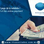 108 – Devolución del pago de lo indebido / Reimbursement of the undue payment