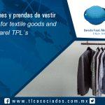 120 – Cupos para bienes y prendas de vestir TPL´s / Quota for textile goods and apparel TPL´s