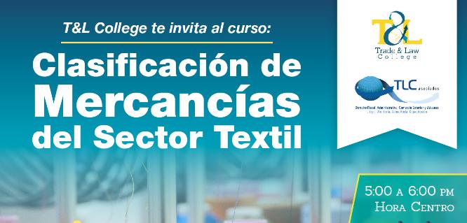 (29-08-2017) clasificación de mercancías del sector textil