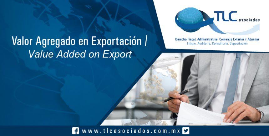 130 – Valor Agregado en Exportación / Value Added on Exports