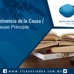 137-Principio de Continencia de la Causa / Joint Cause Principle