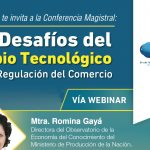 (27-09-17) Los Desafíos del Cambio Tecnológico para la Regulación del Comercio