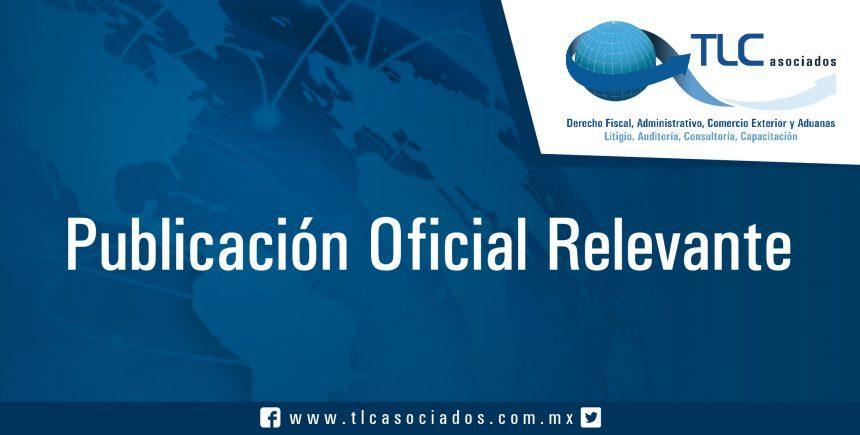 034-TLC-SHCP/SE – Sexta resolución de modificaciones a la resolución miscelánea fiscal para 2017 y sus anexos 1, 1-A y 23