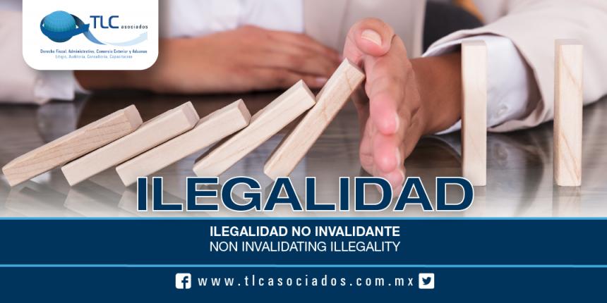 180 – Ilegalidad no invalidante / Non invalidating Illegality