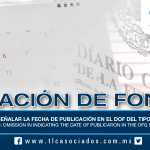 191 – Violación de fondo: Omisión en señalar la fecha de publicación en el DOF del tipo de cambio / Substantive violations: Omission in indicating the date of publication in the OFG of the exchange rate