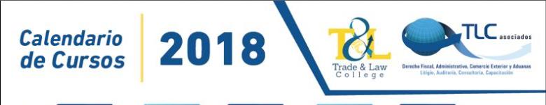 Calendario de Cursos 2018