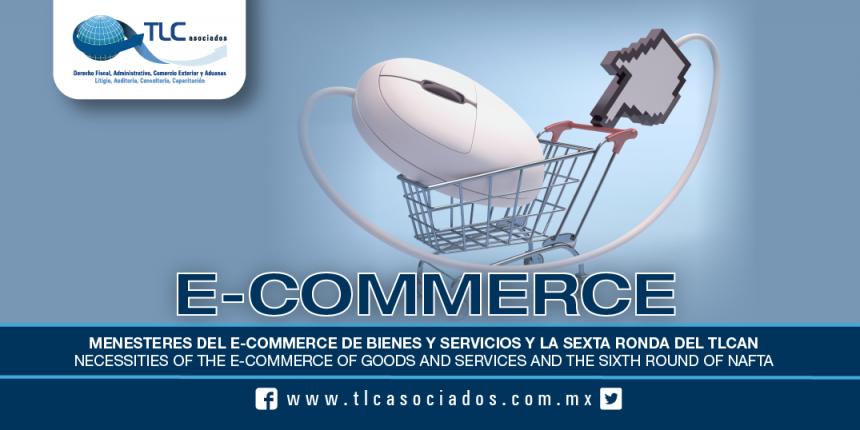 T48 – MENESTERES DEL E-COMMERCE DE BIENES Y SERVICIOS Y LA SEXTA RONDA DEL TLCAN / NECESSITIES OF THE E-COMMERCE OF GOODS AND SERVICES AND THE SIXTH ROUND OF NAFTA