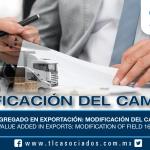 204 – Valor Agregado en Exportación: modificación del campo 16 / Value Added in Exports: modification of field 16