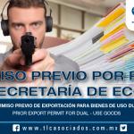 218 – Permiso previo de exportación para bienes de uso dual / Prior Export Permit for dual-use goods
