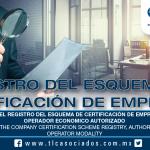 219 – Obligaciones en el Registro del Esquema de Certificación de Empresas, modalidad Operador Económico Autorizado /  Obligations in the Company Certification Scheme Registry, Authorized Economic Operator modality