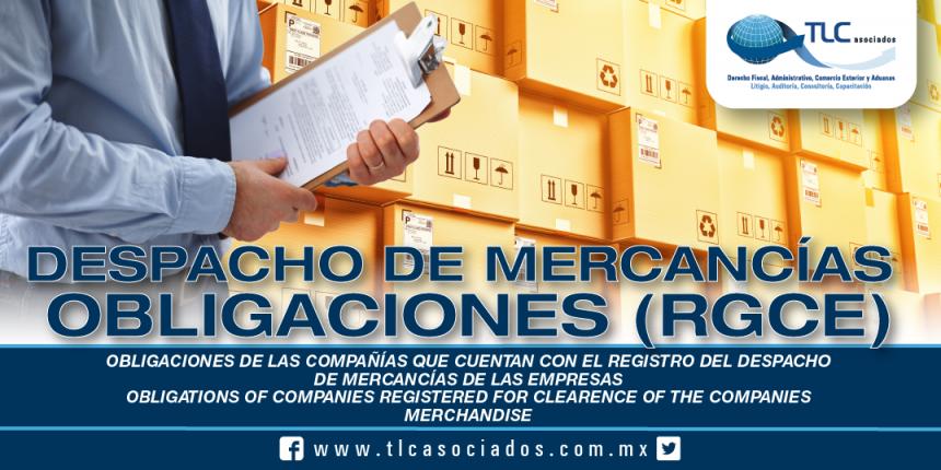 226 – Obligaciones de las compañías que cuentan con el Registro del Despacho de Mercancías de las Empresas / Obligations of companies Registered for Clearance of the Companies Merchandise