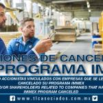 228 – Socios y/o accionistas vinculados con empresas que se les hubiera cancelado su Programa IMMEX / Partners and/or shareholders related to companies that have had their IMMEX Program canceled