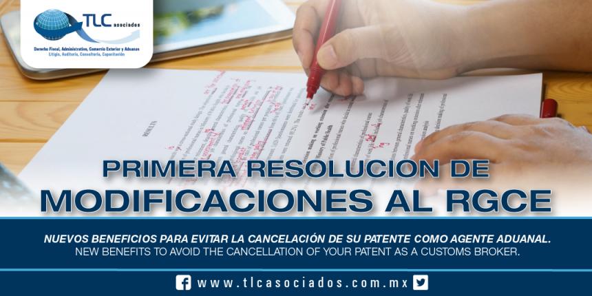 235 – Nuevos beneficios para evitar la cancelación de su Patente como Agente Aduanal / New benefits to avoid the cancellation of your Patent as a Customs Broker