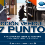 243 – Inspección de los medios de transporte / Inspection of means of transport