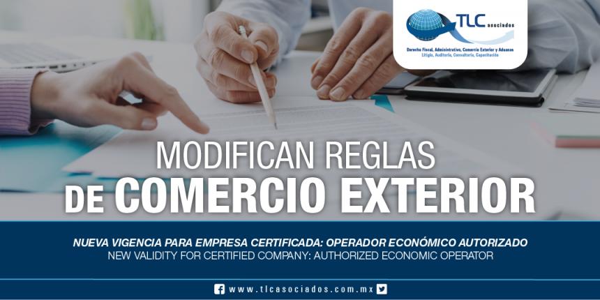 254 – Nueva vigencia para Empresa Certificada: Operador Económico Autorizado / New validity for Certified Company: Authorized Economic Operator