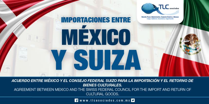 257 – Acuerdo entre México y el Consejo Federal Suizo para la importación y el retorno de bienes culturales / Agreement between Mexico and the Swiss Federal Council for the import and return of cultural goods