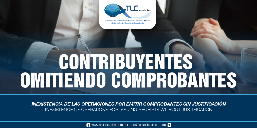 259 – Inexistencia de las operaciones por emitir comprobantes sin justificación / Inexistence of operations for issuing receipts without justification