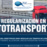 260 – Una logística segura: directrices para regular los tiempos de conducción y pausa / Safe logistics: guidelines to regulate driving and pause times