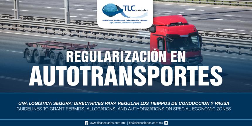 260 – Una logística segura: directrices para regular los tiempos de conducción y pausa / Safe logistics: guidelines to regulate driving and pause times