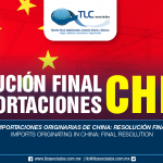 264 – Importaciones originarias de China: resolución final / Imports originating in China: final resolution