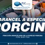 271 – Fracción arancelaria de la especie porcina / Pork Tariff Item
