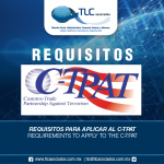 276 – Requisitos para aplicar al C-TPAT/Requirements to apply to the C-TPAT