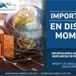 278 – Importaciones en diversos momentos de mercancías desmontadas o sin montar/Imports at various times of dismantled or unassembled merchandise