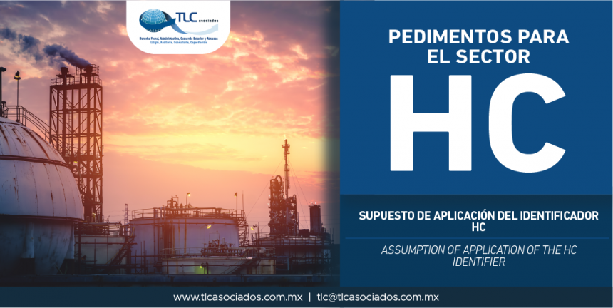 283 – Supuesto de aplicación del identificador HC / Assumption of application of the HC identifier