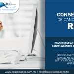 325 – Consecuencias para una IMMEX por la cancelación del RECE modalidad IVA e IEPS/ Consequences for IMMEX due to the cancellation of Registration in the Certification Scheme of Companies, VAT and STPS methods.