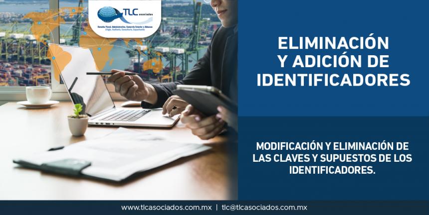 T61 – Modificación y eliminación de las claves y supuestos de los identificadores/ Modifying and removing codes and token cases