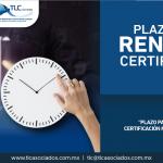 T62 – Plazo para renovar la Certificación modalidad IVA e IEPS.