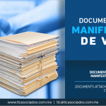 340 – Documentos anexos a la manifestación de valor/ Documents attached to the value form for customs.